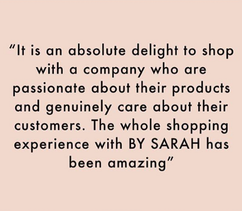 BY SARAH LONDON - 5 star customer review