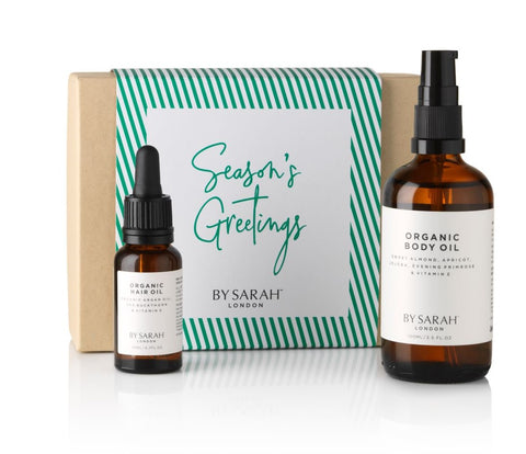 BY SARAH LONDON - Ethical Christmas Gift Guide - Deluxe Organic Body & Hair Gift Set