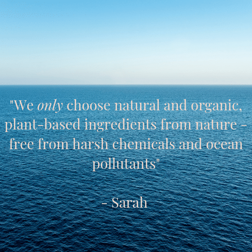 by sarah london ocean friendly skincare