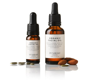 BY SARAH LONDON - Organic Facial Oil - Almond and Pumpkin Seeds
