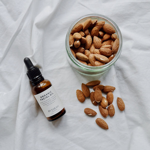 BY SARAH LONDON Organic Facial Oil with almonds