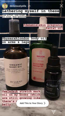 BY SARAH LONDON Deliciously Ella Organic Body Oil