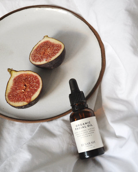 BY SARAH LONDON - Organic Facial Oil and figs
