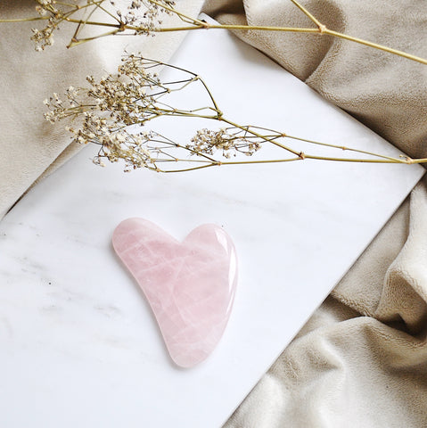 BY SARAH LONDON Rose Quartz Gua Sha