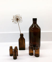 BY SARAH LONDON - Blog - Amber glass bottles