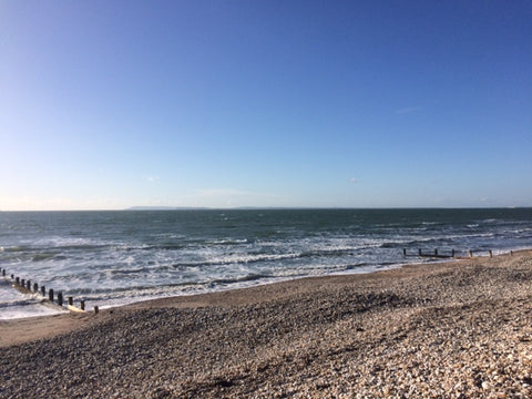 BY SARAH LONDON - Blog - West Wittering Beach - Mindfulness walking