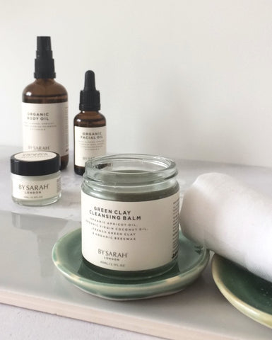 BY SARAH LONDON - Green Clay Cleansing Balm