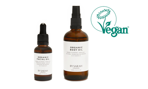 BY SARAH LONDON - Blog - Organic Facial Oil and Organic Body Oil - Registered with The Vegan Society