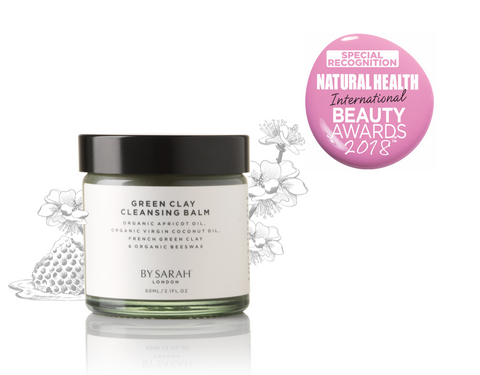 BY SARAH LONDON award winning Green Clay Cleansing Balm