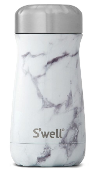 BY SARAH LONDON - S'well white marble bottle