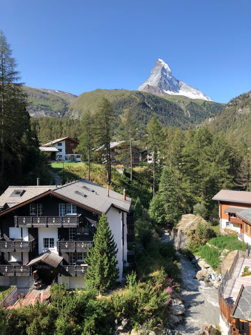 BY SARAH LONDON - visiting Zermatt Switzerland