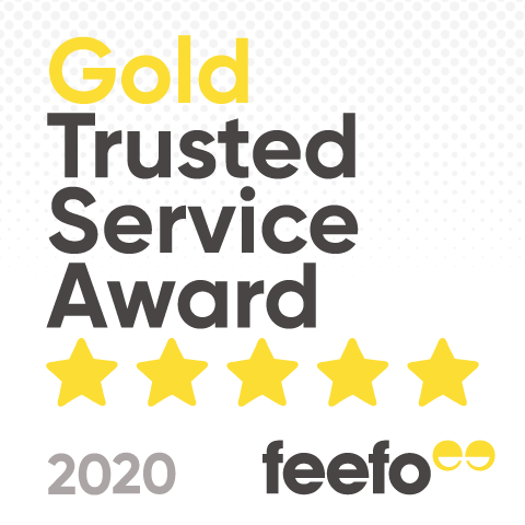 By Sarah London Feefo Gold Trusted Service Award 2020