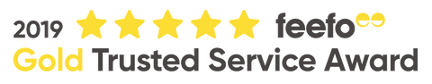 BY SARAH LONDON - Feefo Gold Trusted Service Award