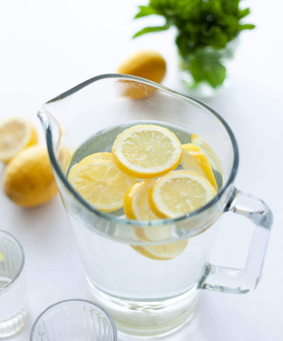 By Sarah London lemon water