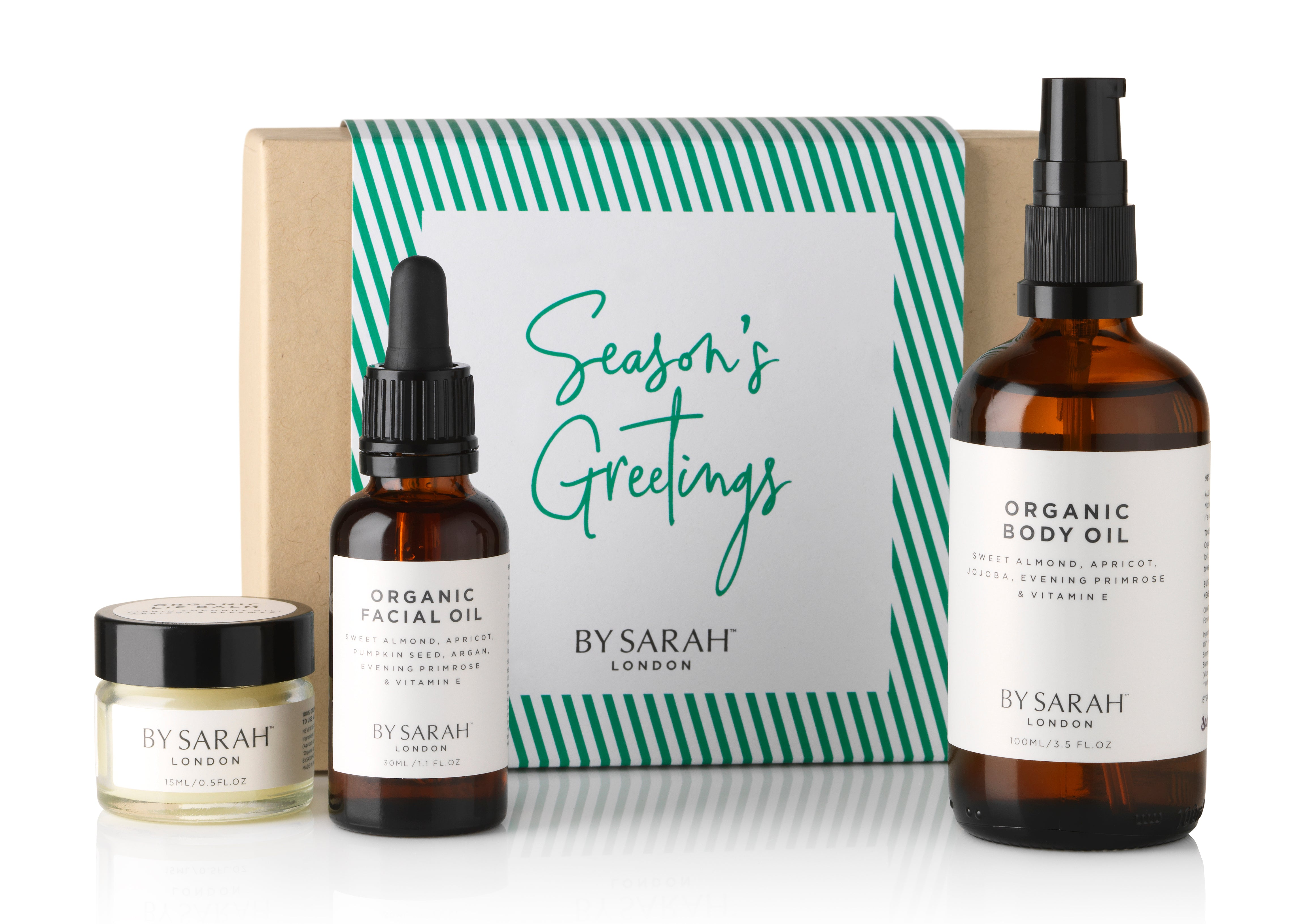 BY SARAH LONDON - Christmas Gift - Organic Face & Body Gift Set