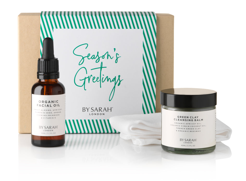 BY SARAH LONDON - Christmas Gift - Deluxe Organic Facial Gift Set