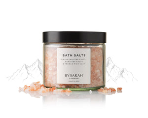 BY SARAH LONDON - Bath Salts - Dead Sea Salts and French Pink Clay