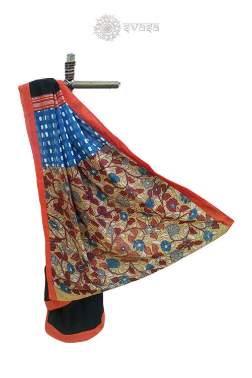 Handcrafted Cotton Saree - SvasaDesign