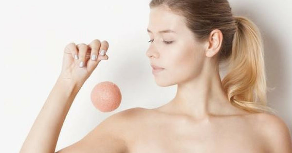 THE ORIGINAL KONJAC SPONGE - THE KOREAN SECRET TO FLAWLESS SKIN!