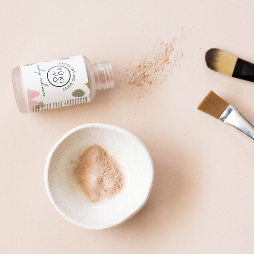 EXFOLIATING DUST - rosehip radiance