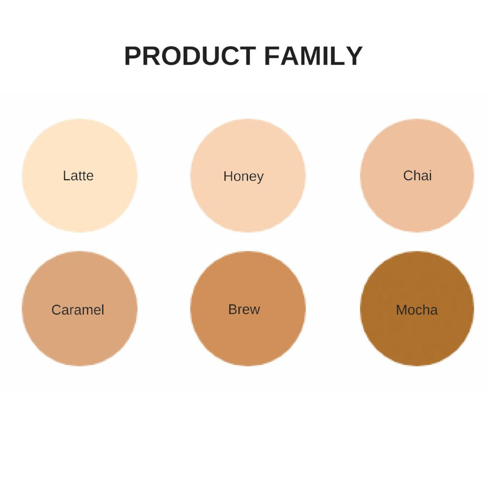 'NEW FORMULA' Ere Perez - Oat Milk Foundation - Caramel