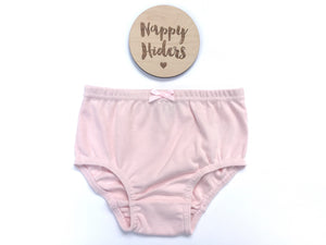 Nappy Hiders - Blush Pink - Sizes 000 - 5
