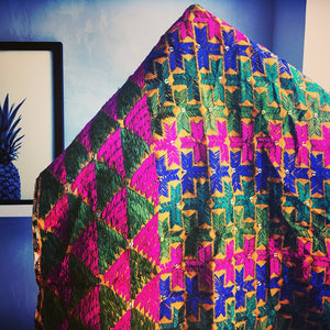 Adha Bagh Phulkari fabric: The ideal choice for home décor