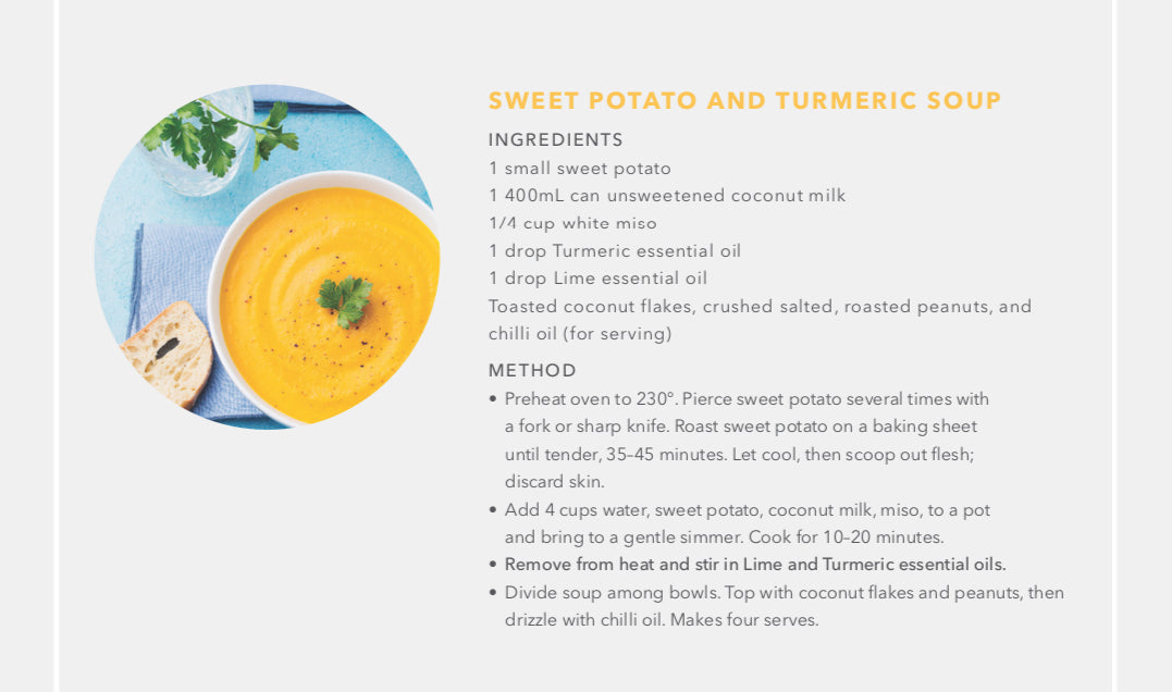 Sweet Potato & Turmeric Soup