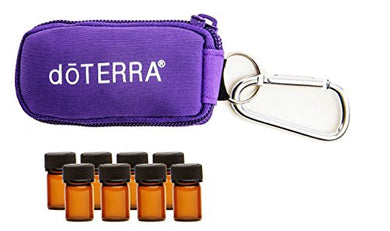 Purple 8-Vial Keychain