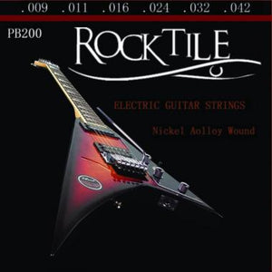 Rocktile Strings for Electric Guitars Super Light 10-pack