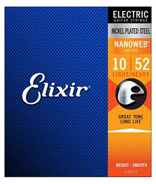 Elixir Electric Nanoweb Light-Heavy