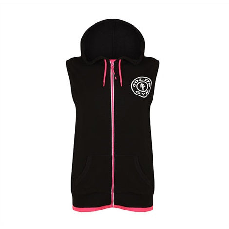 Ladies Sleeveless Hoodie