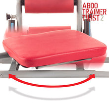ABDO Trainer Twist Sit Up Bench with Chest Expanders