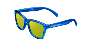 KIDS BRIGHT BLUE - GOLD POLARIZED