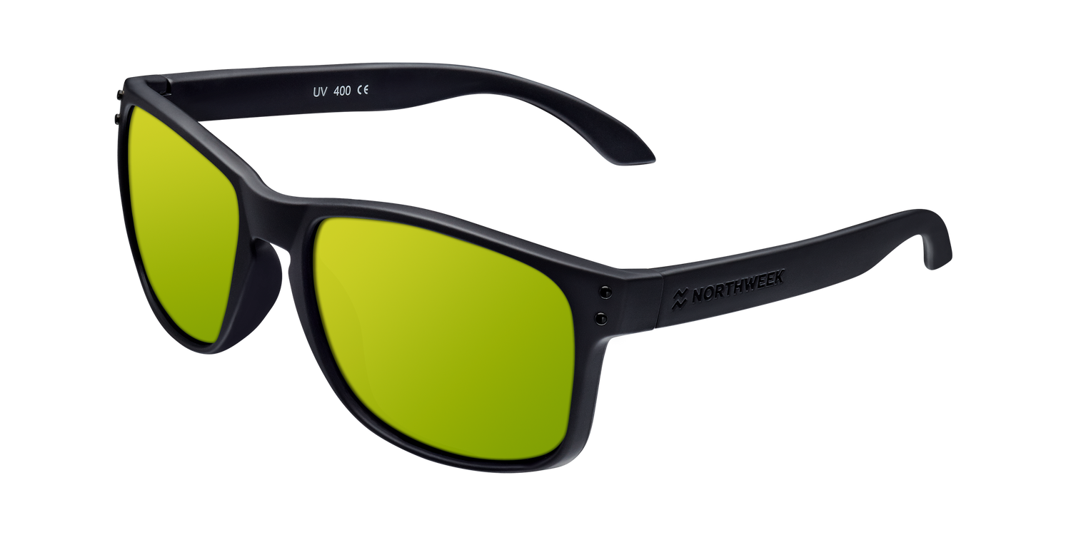 BOLD MATTE BLACK - GOLD POLARIZED