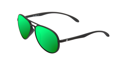 yaw-matte-black-green-polarized