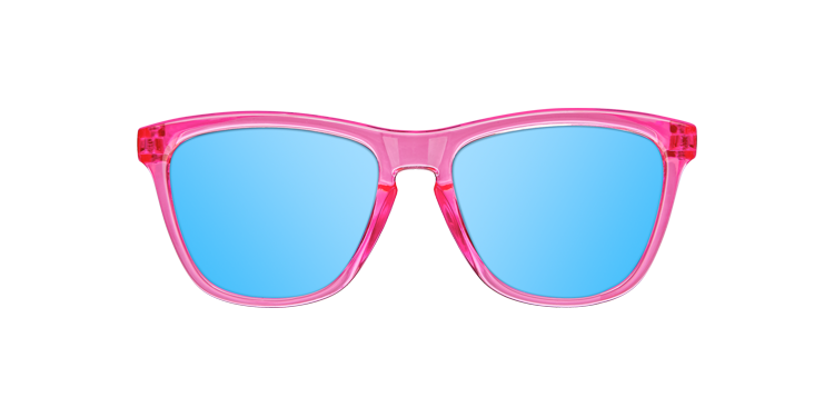KIDS BRIGHT PINK - BLUE POLARIZED