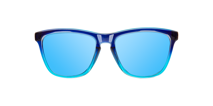 KIDS GRADIANT BRIGHT BLUE - ICE BLUE POLARIZED