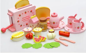 Wooden Brekky Playset