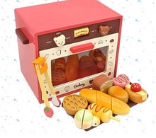 Wooden Bear Oven Playset