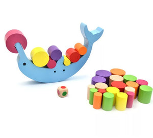 Wooden Dolphin Blocks