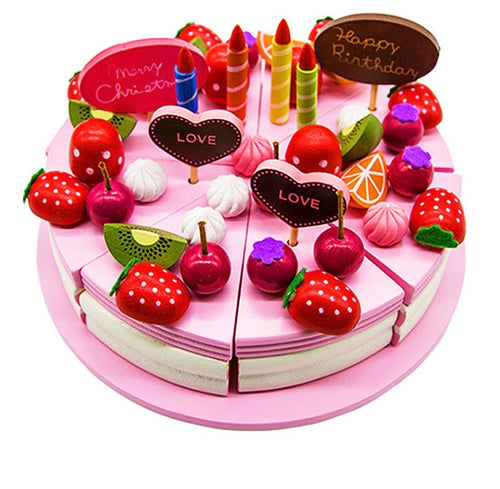 Strawberry Cake Decoration Play Set