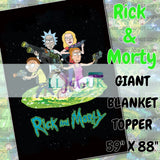 RETAIL - Round 13B - Schwifty Business Giant Blanket topper A