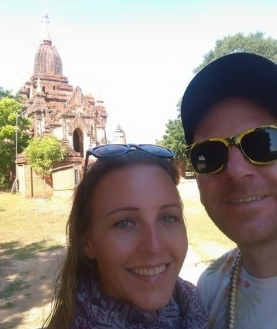 Cara and Adam Bagan Myanmar