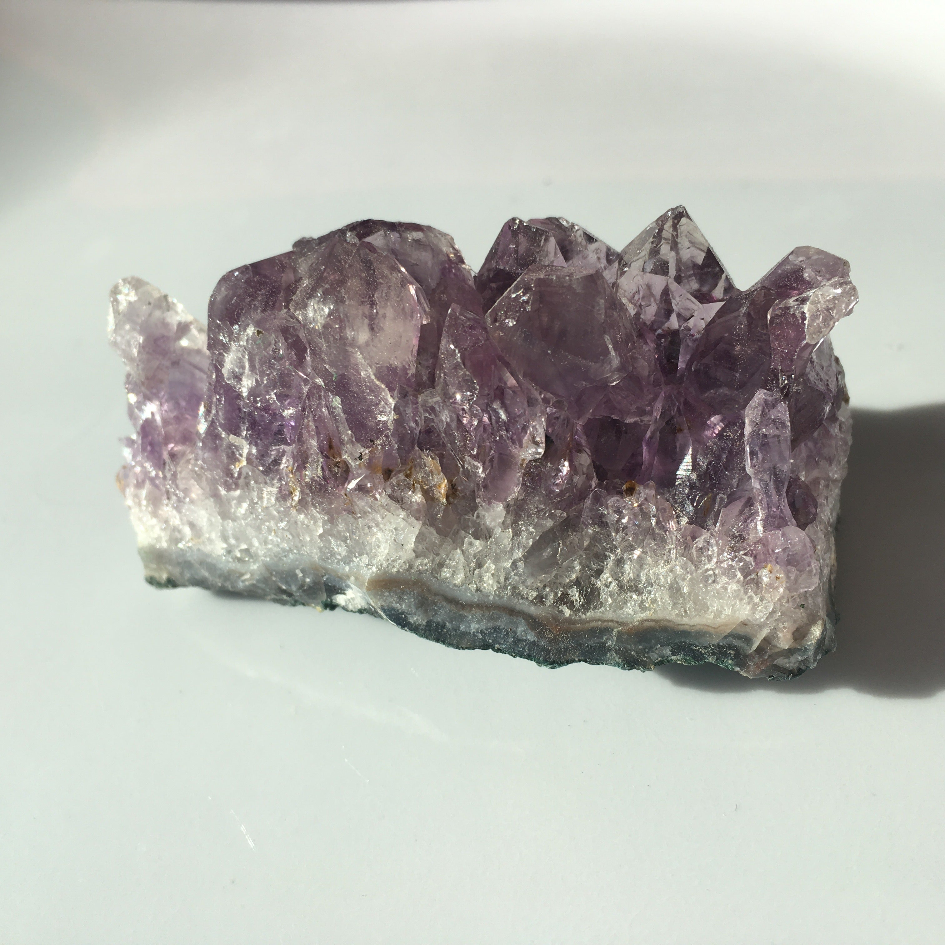 Raw Amethyst Crystal Cluster, Geodes for Crown Chakra Smaller size