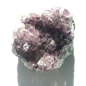 Raw Amethyst Crystal Cluster, Geodes for Crown Chakra Large size