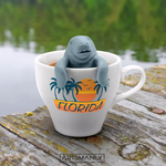 Manatee Shape Silicone Filter Tea Strainer/Infuser