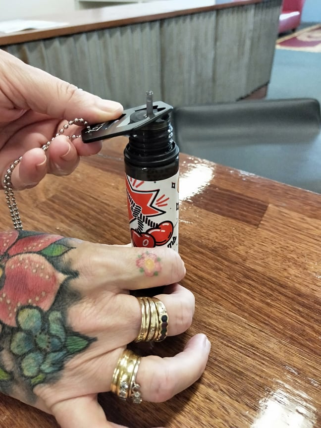 Vape Shack Mackay E-Liquid Bottle Opener