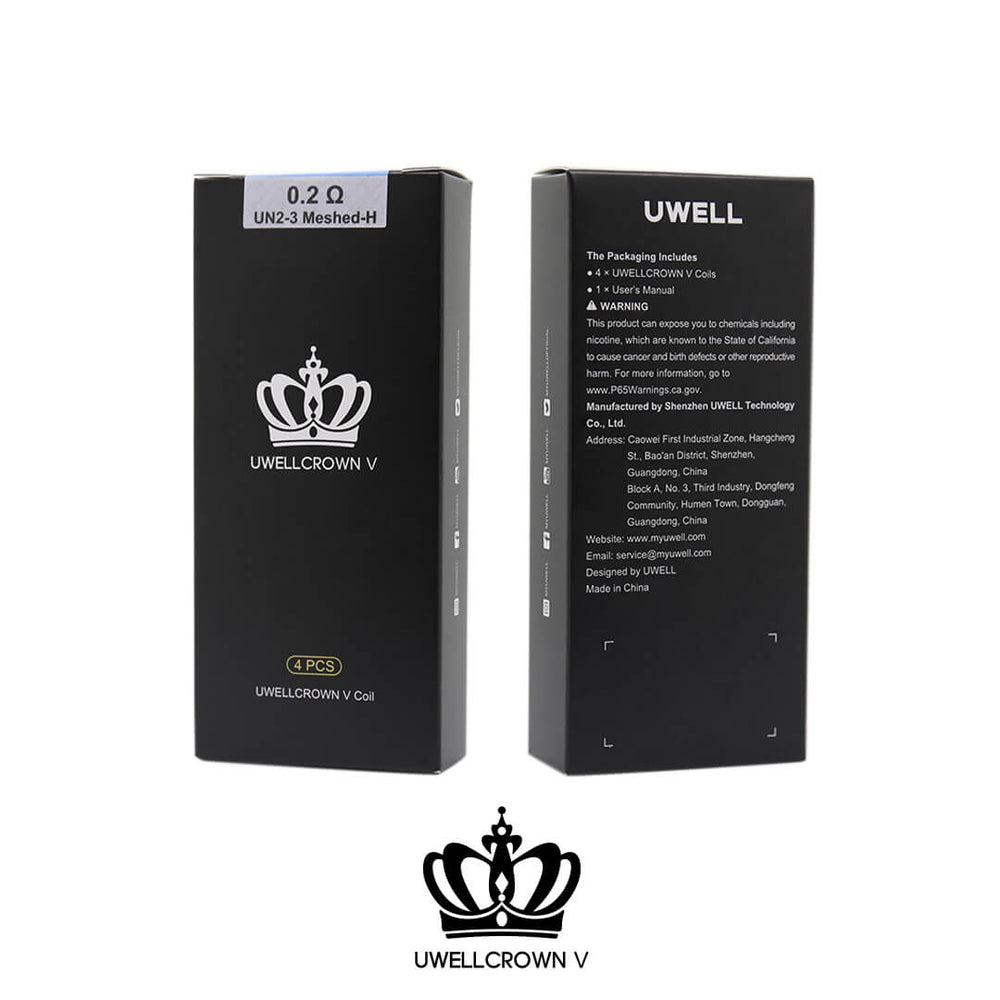 Uwell Crown V (5) Replacement Coils