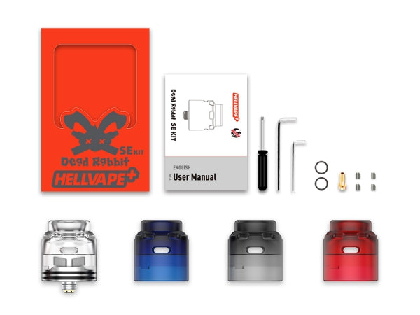 HELLVAPE DEAD RABBIT SE RDA 4 IN 1 KIT